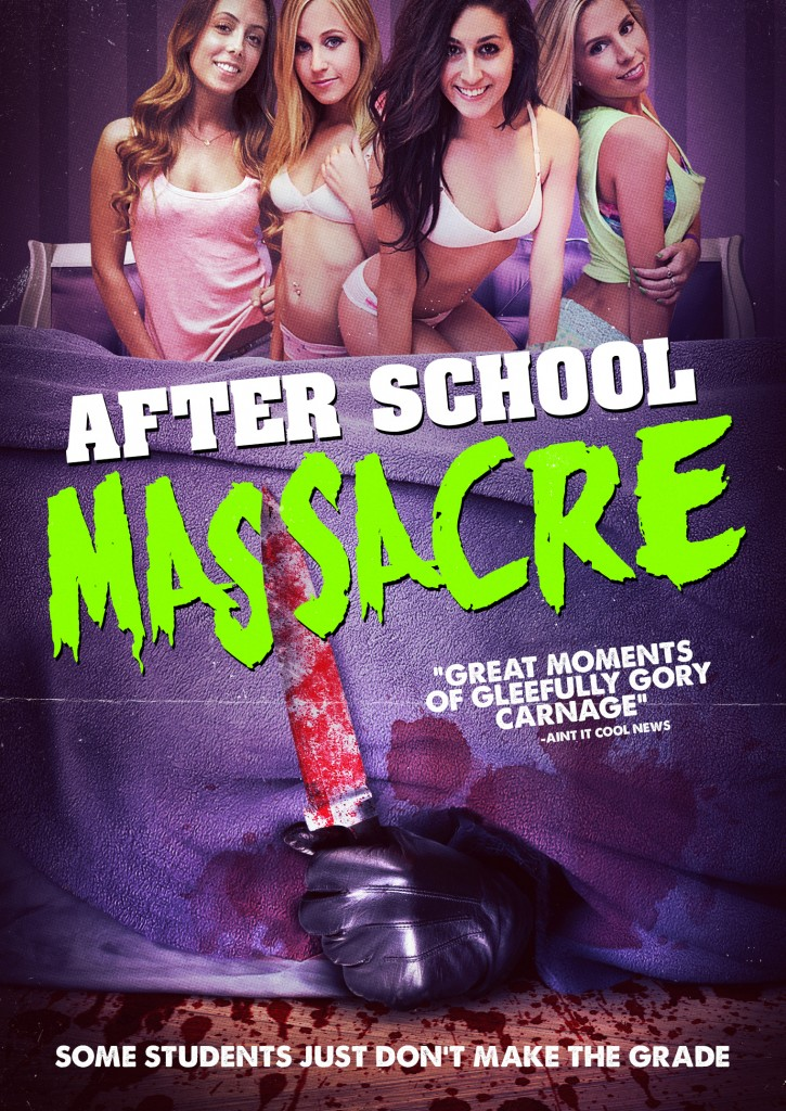 After School Massacre Key Art