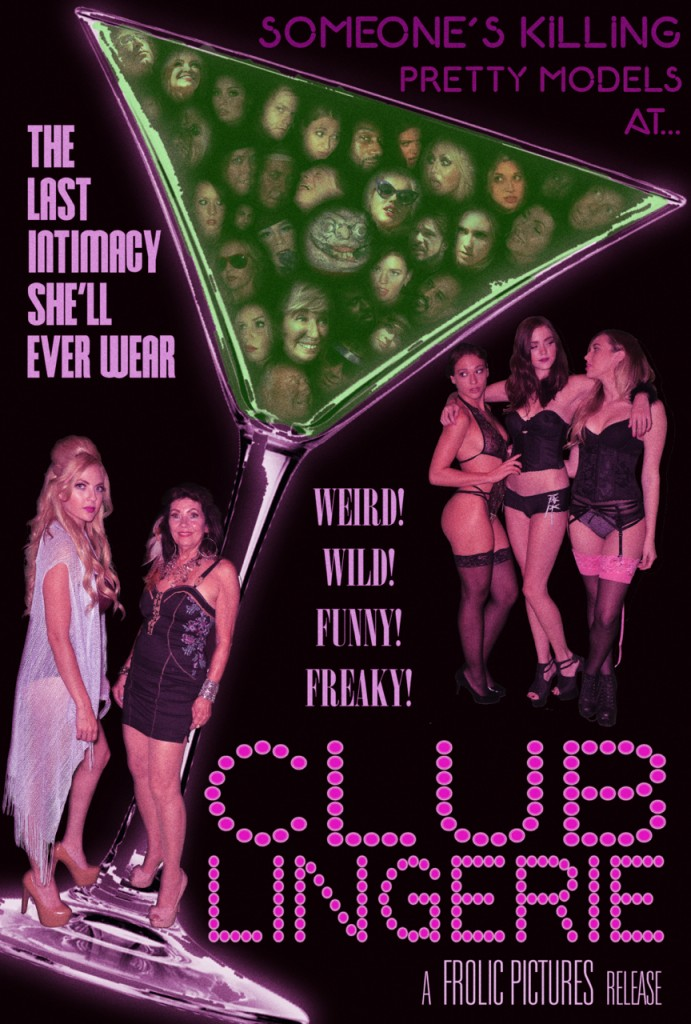 CLUB LINGERIE MARTINI FACES POSTER FINAL IMDB LRG